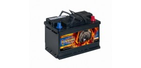 Akumuliatorius B-POWER 62 Ah 480 EN 12V 241x175x190mm