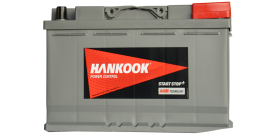 Akumuliatorius Hankook 80Ah 800A (EN) AGM Start-Stop